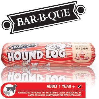 Butch pet foods hound log economy hound log bar b que for Food for bar b q